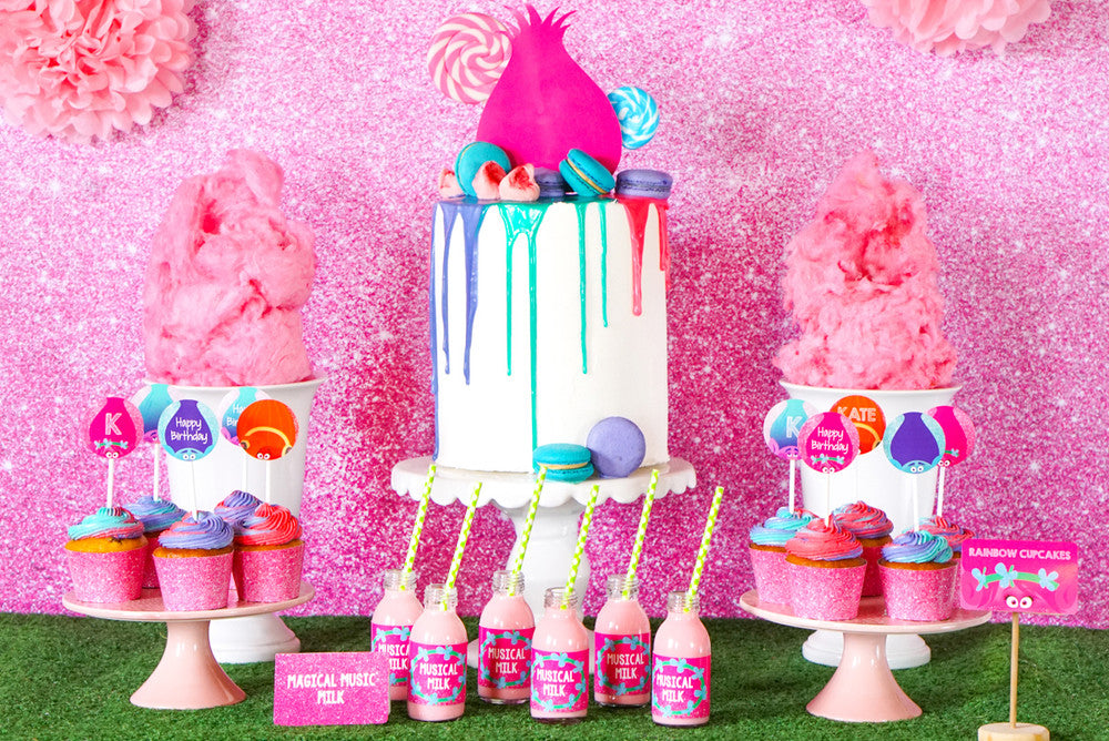 FREE Trolls Party Printables
