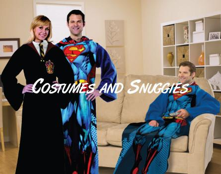 Costumes and Snuggies