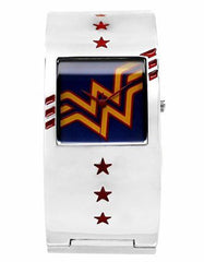 Wonder Woman Bangle Cuff Bracelet Watch