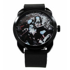 Captain America - The Winter Soldier - Black Silicon Watch