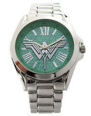 "Wonder Woman ""Batman V Superman Dawn of Justice"" Silver-tone Woman's Watch"