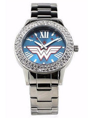 "Wonder Woman ""Justice"" Silver-tone Watch"