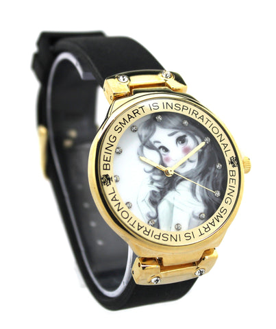 Beauty and the Beast Belle Women's Disney Watch (PN1492) - SuperheroWatches.com