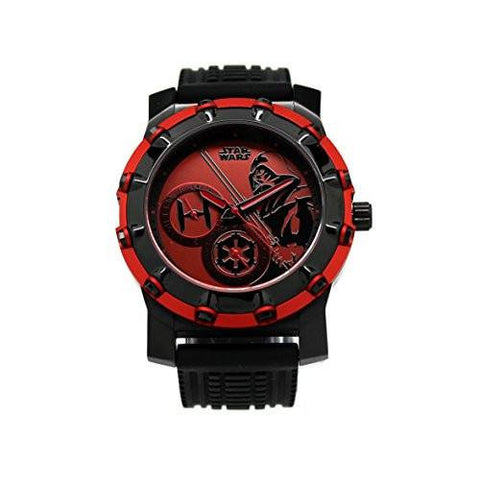 Darth Vader Stainless Steel Limited Edition Star Wars Watch (DAR1037) - SuperheroWatches.com