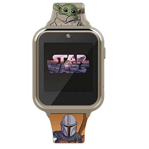 Star Wars The Mandalorian and The Child Interactive Kids Smart Watch MNL4019