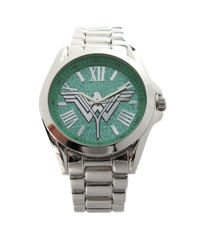 "Wonder Woman ""Batman V Superman Dawn of Justice"" Silver-tone Woman's Watch (BVS8012) - SuperheroWatches.com"