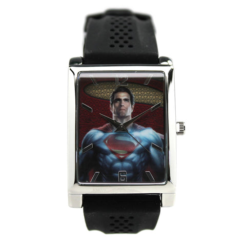 "Man of Steel ""Batman V Superman"" Mens Watch (BVS9002) - SuperheroWatches.com"