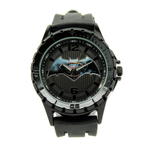 "Batman V Superman ""Dawn of Justice"" Exclusive Mens Watch (BVS9062) - SuperheroWatches.com"