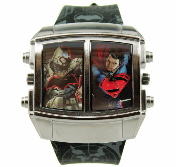"Batman V Superman ""Battle Mode"" Exclusive Mens Watch (BVS9063) - SuperheroWatches.com"