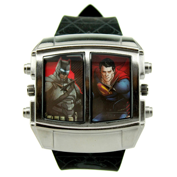 "Batman V Superman ""Friend of Foe"" Exclusive Mens Watch (BVS9064) - SuperheroWatches.com"