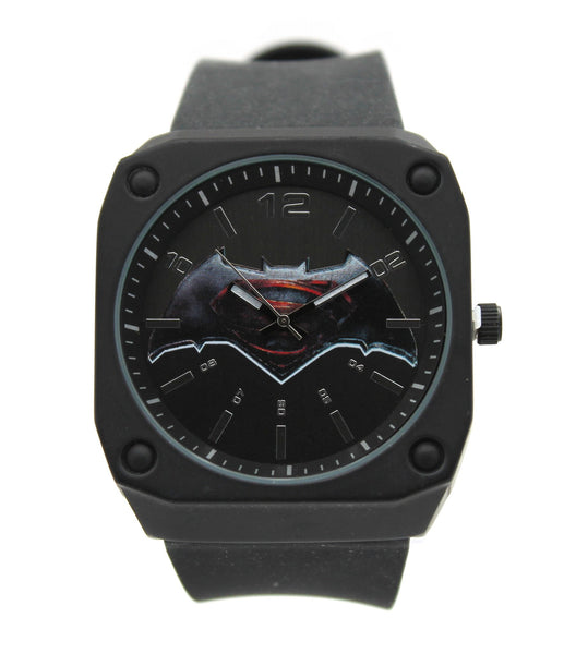 "Batman V Superman ""Stealth Mode"" Exslusive Mens Watch (BVS9065)"