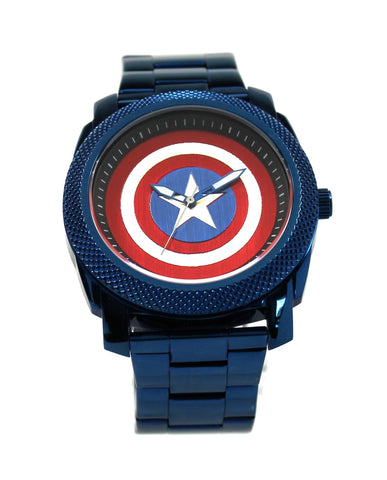 Captain America Stainless Steel Watch (CTA8000) - SuperheroWatches.com