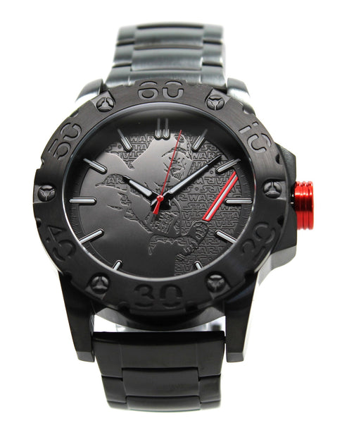Darth Vader Stainless Steel Limited Edition Star Wars Watch Exclusive (DAR2025) - SuperheroWatches.com