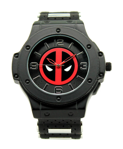 "Deadpool ""Bad Deadpool... Good Deadpool"" Mens Watch (DEP1930) - SuperheroWatches.com"