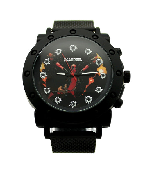 "Deadpool ""All Out"" Mens Watch (DEP2907) - SuperheroWatches.com"