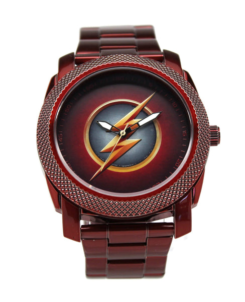 The Flash CW Stainless Steel Red Watch (FLT8006)