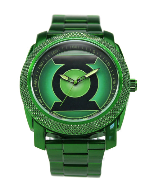 Green Lantern Mens Stainless Steel Watch (GLN8003)