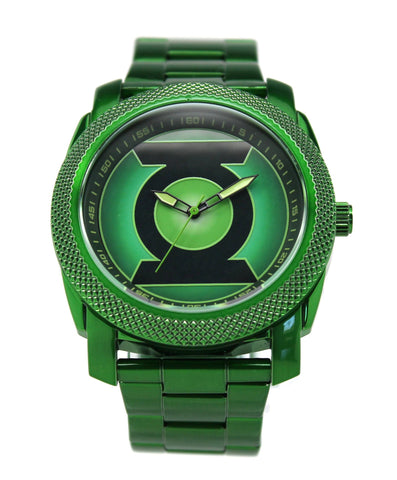 Green Lantern Mens Stainless Steel Watch (GLN8003) - SuperheroWatches.com
