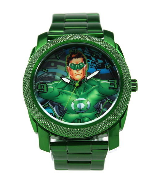 Green Lantern Mens Stainless Steel Watch (GLN8004) - SuperheroWatches.com