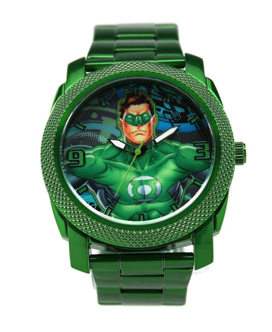 Green Lantern Mens Stainless Steel Watch (GLN8004)