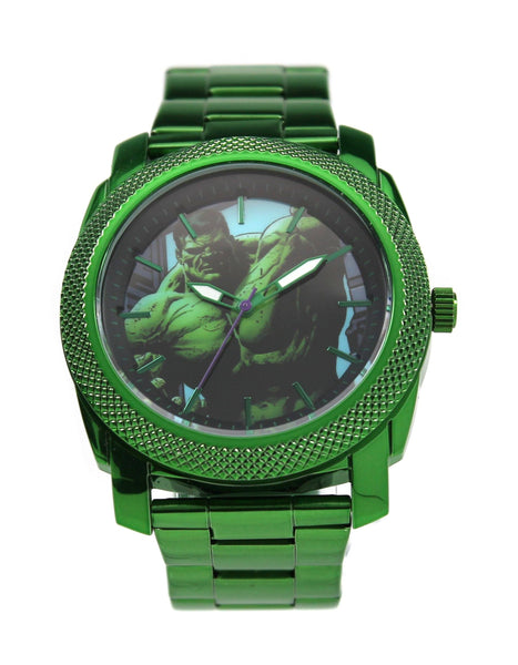 The Incredible Hulk Men's Stainless Steel Watch (HLK8001)