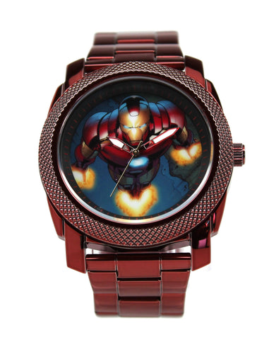 Iron Man Stainless Steel Mens Watch (IRM8002) - SuperheroWatches.com