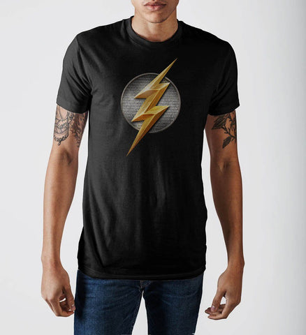 Justice League Flash Logo T-Shirt - SuperheroWatches.com