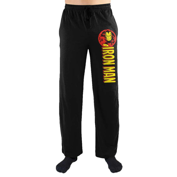 Marvel Comics Iron Man Print Men's Lounge Pants - SuperheroWatches.com