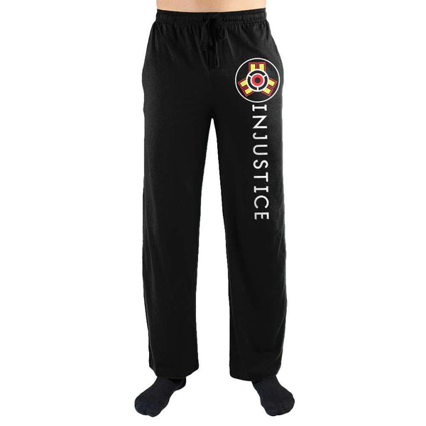 Injustice Gods Among Us Print Men's Loungewear Lounge Pants - SuperheroWatches.com