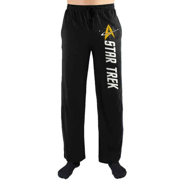Star Trek Emblem Men's Loungewear Sleep Lounge Pants - SuperheroWatches.com