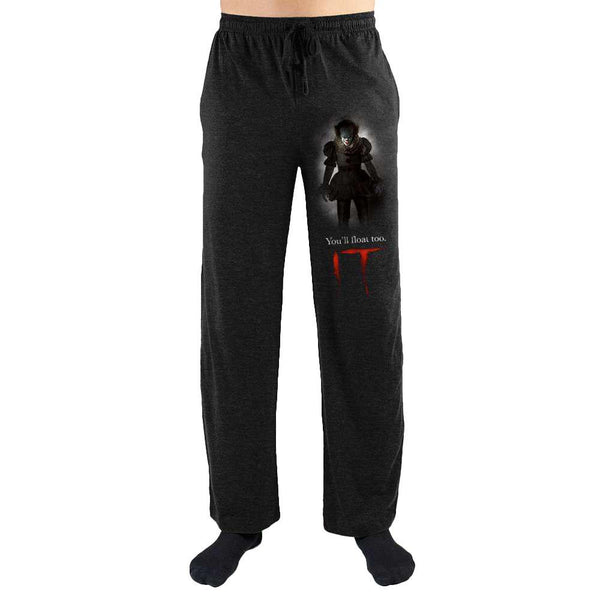 IT You'll Float Too Print Men's Loungewear Lounge Pants - SuperheroWatches.com