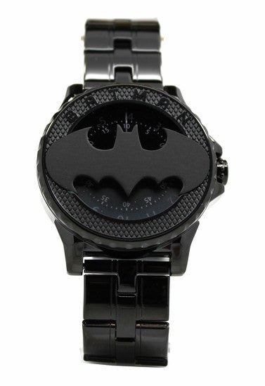 Batman 75th Year Limited Edition Rotator Mens Stealth Watch (Bat5112) - SuperheroWatches.com