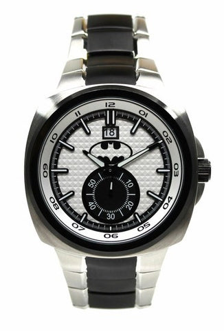 Batman 75th Year Limited Edition Silver-Toned Mens Watch (BAT8057) - SuperheroWatches.com