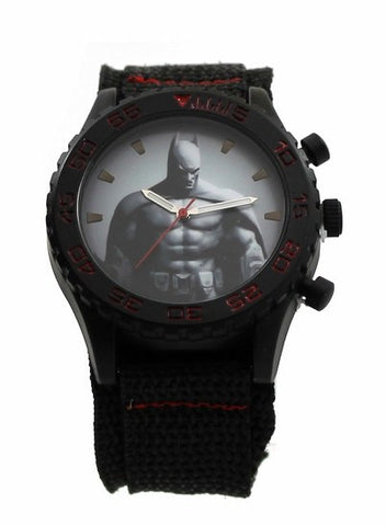 Batman Arkham City Canvas Wrap Watch (ARK5002) - SuperheroWatches.com