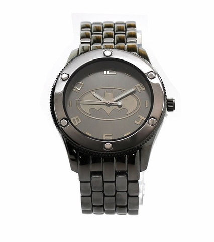Batman Black Tonal Bracelet Watch (BAT8039) - SuperheroWatches.com