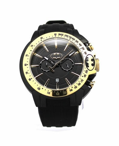 "Batman ""Justice"" Gold Mens Sport Watch (BAT8086) - SuperheroWatches.com"