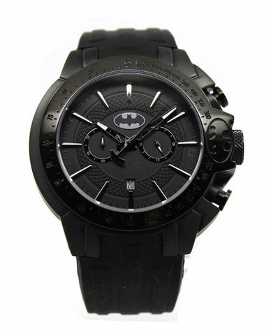 "Batman ""Justice"" Stealth Mens Sport Watch (BAT8084) - SuperheroWatches.com"