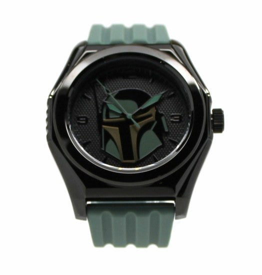 Boba Fett Mandalorian Stainless Steel Limited Edition Watch (BOB1208)  Comic Con San Diego Exclusive