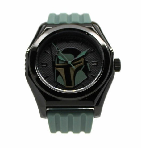 Boba Fett Mandalorian Stainless Steel Limited Edition Star Wars Watch (BOB1208)  Comic Con San Diego Exclusive - SuperheroWatches.com