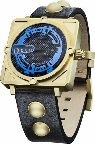 Doctor Who Watch - Dr Who Dalek Collector's Digital Watch - Gold and Black (DR193)