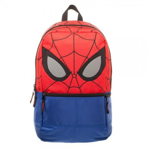 Marvel Spiderman Backpack with Reflective Eyes - SuperheroWatches.com