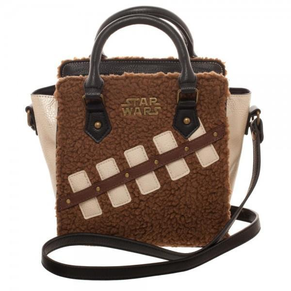 Star Wars Episode 8 Chewie and Porg Mini Brief Handbag - SuperheroWatches.com