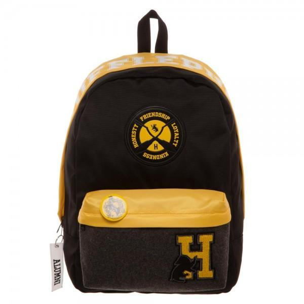 Harry Potter Hufflepuff Backpack - SuperheroWatches.com
