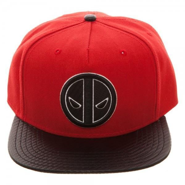 Marvel Deadpool Carbon Fiber Snapback - SuperheroWatches.com