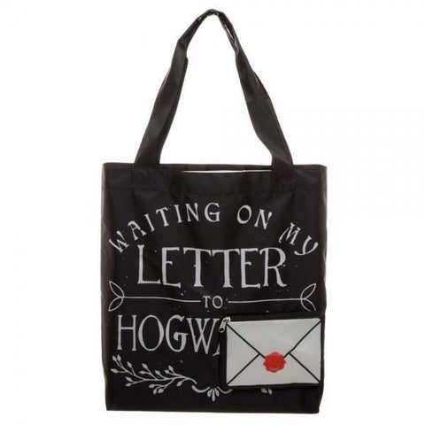 Harry Potter Letter To Hogwarts Packable Tote - SuperheroWatches.com