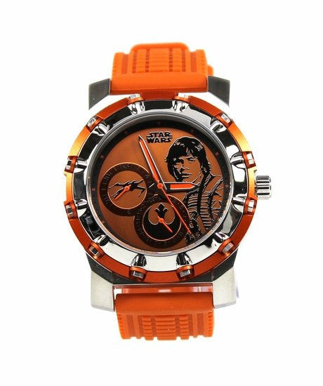Luke Skywalker The Force Awakens Limited Edition Comic-Con Men's Watch (LUK1630) - SuperheroWatches.com