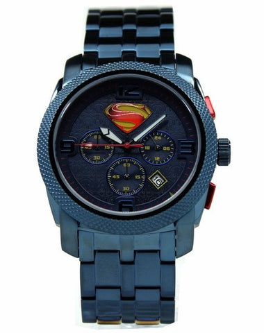 "Man of Steel ""Blue"" Extreme Limited Edition Collection Watch (MOS 8019) - SuperheroWatches.com"