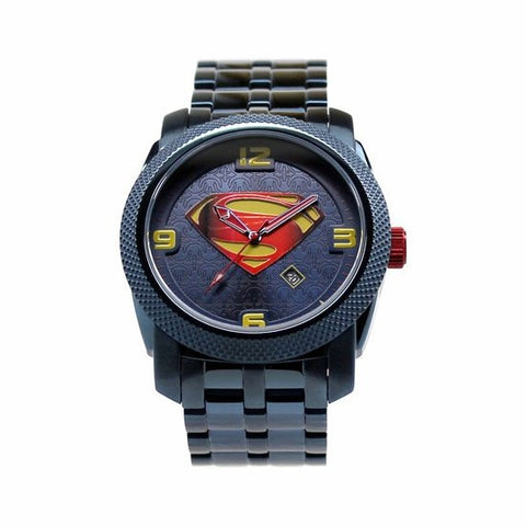 "Man of Steel ""Blue"" Limited Edition Collection Watch (MOS8022) - SuperheroWatches.com"