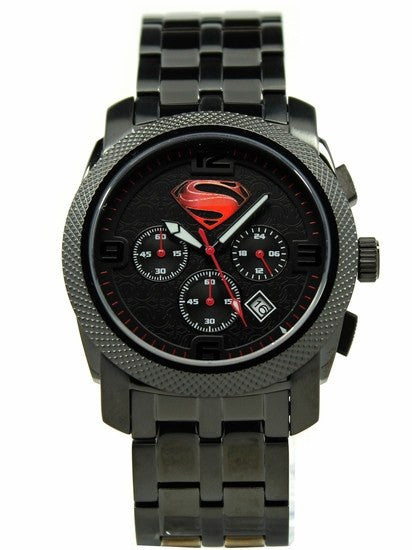 "Man of Steel ""Stealth"" Extreme Limited Edition Collection Watch (MOS 8018) - SuperheroWatches.com"
