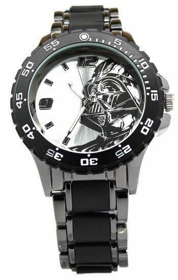 Darth Vader Star Wars Watch with Black Metal Bracelet (DAR2001) - SuperheroWatches.com